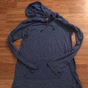 Soffe sheer pullover navy blue